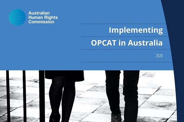 AHRC OPCAT report cover